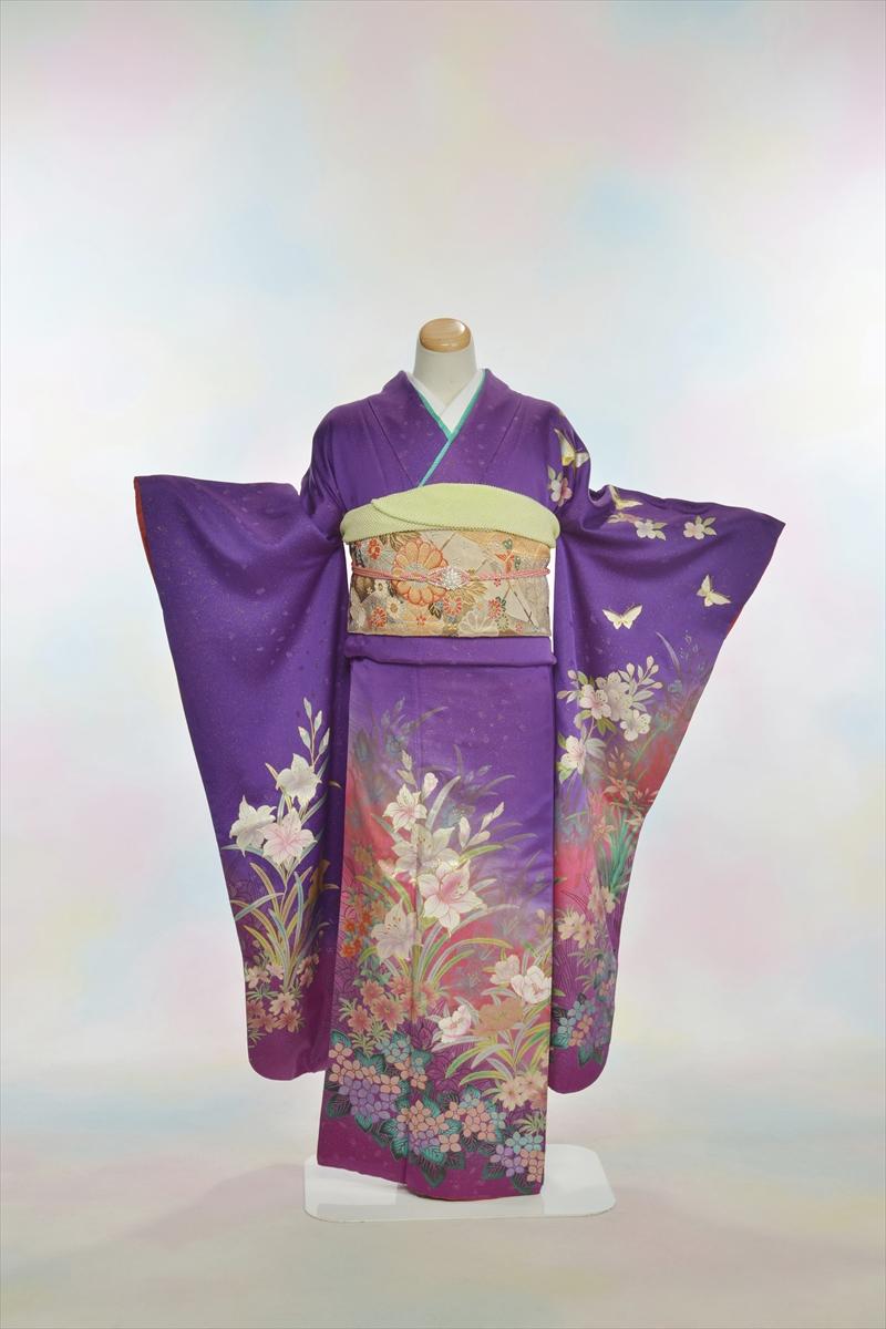 紫ラメ蝶メインイメージ