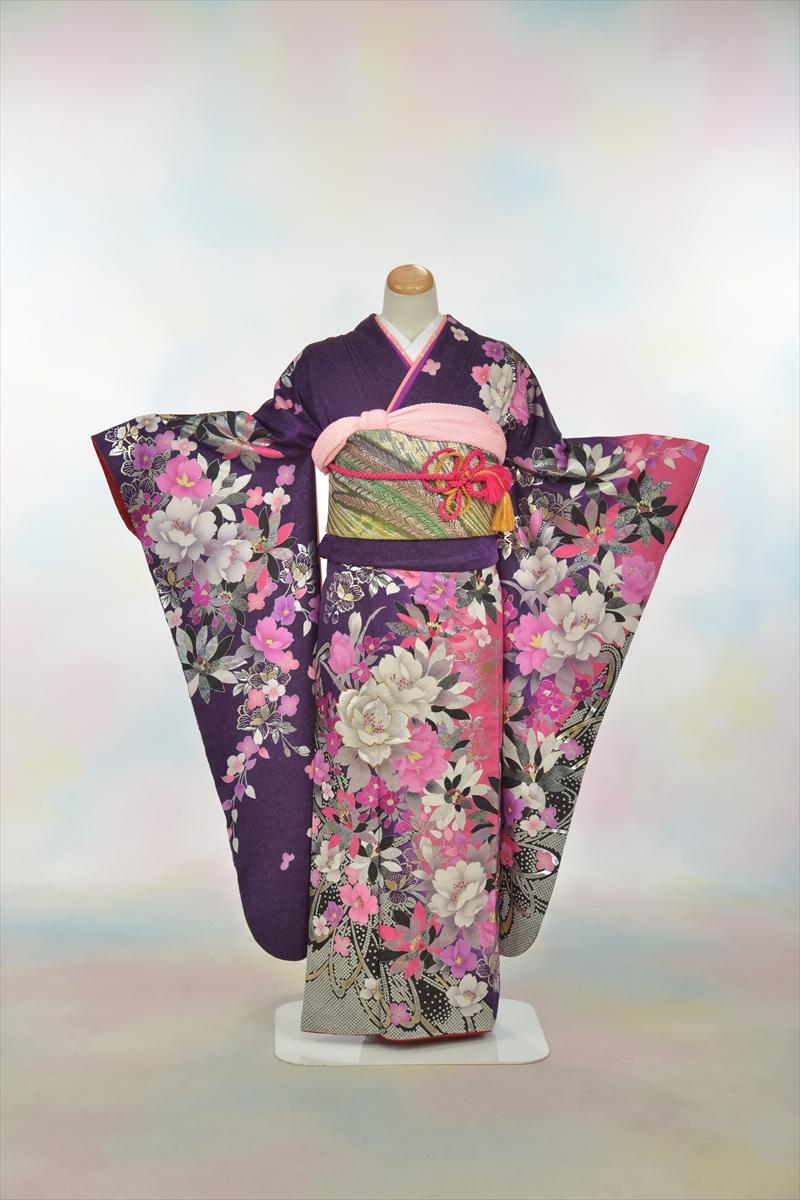 紫地にピンクと白に花メインイメージ