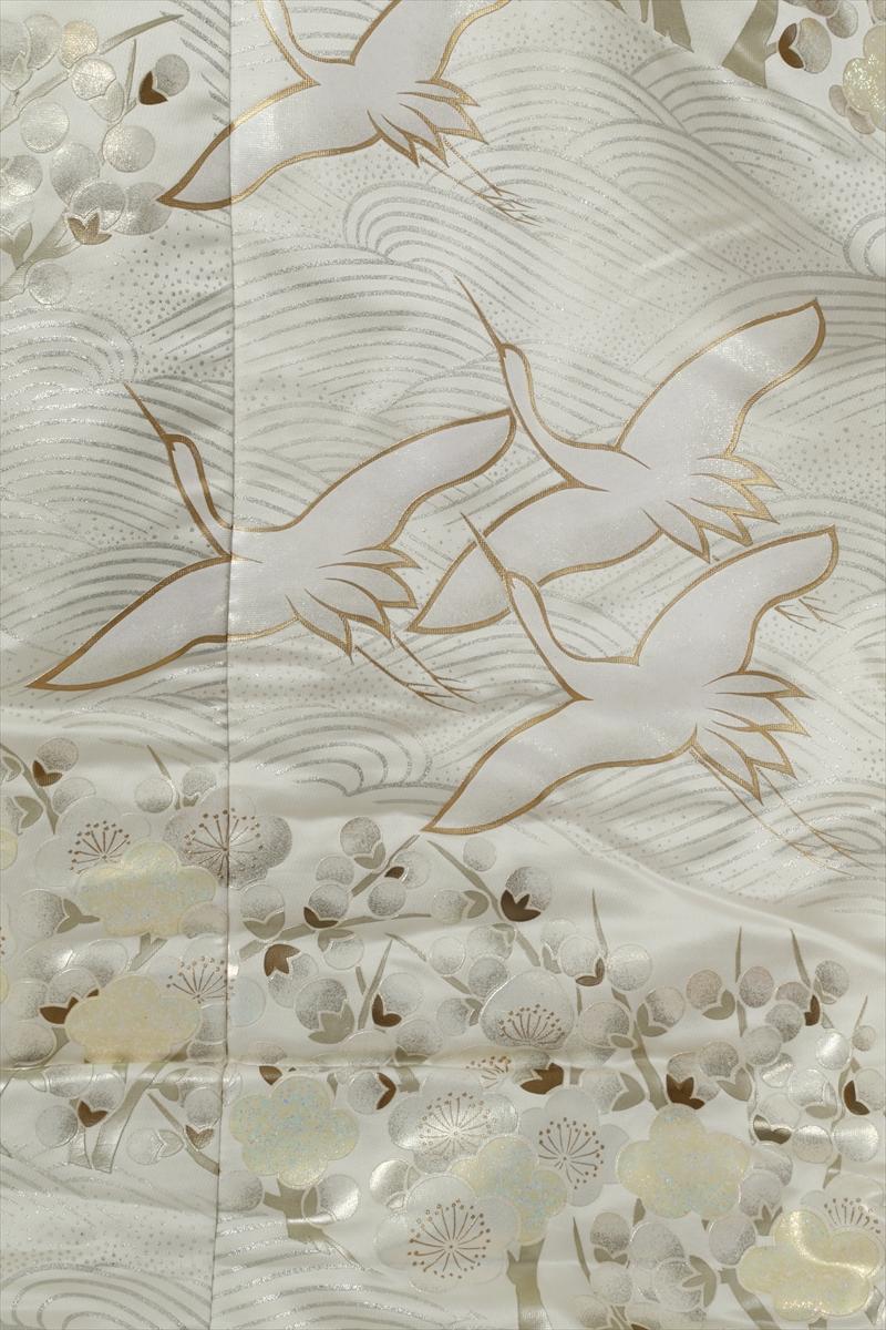 白地に梅サブ画像1