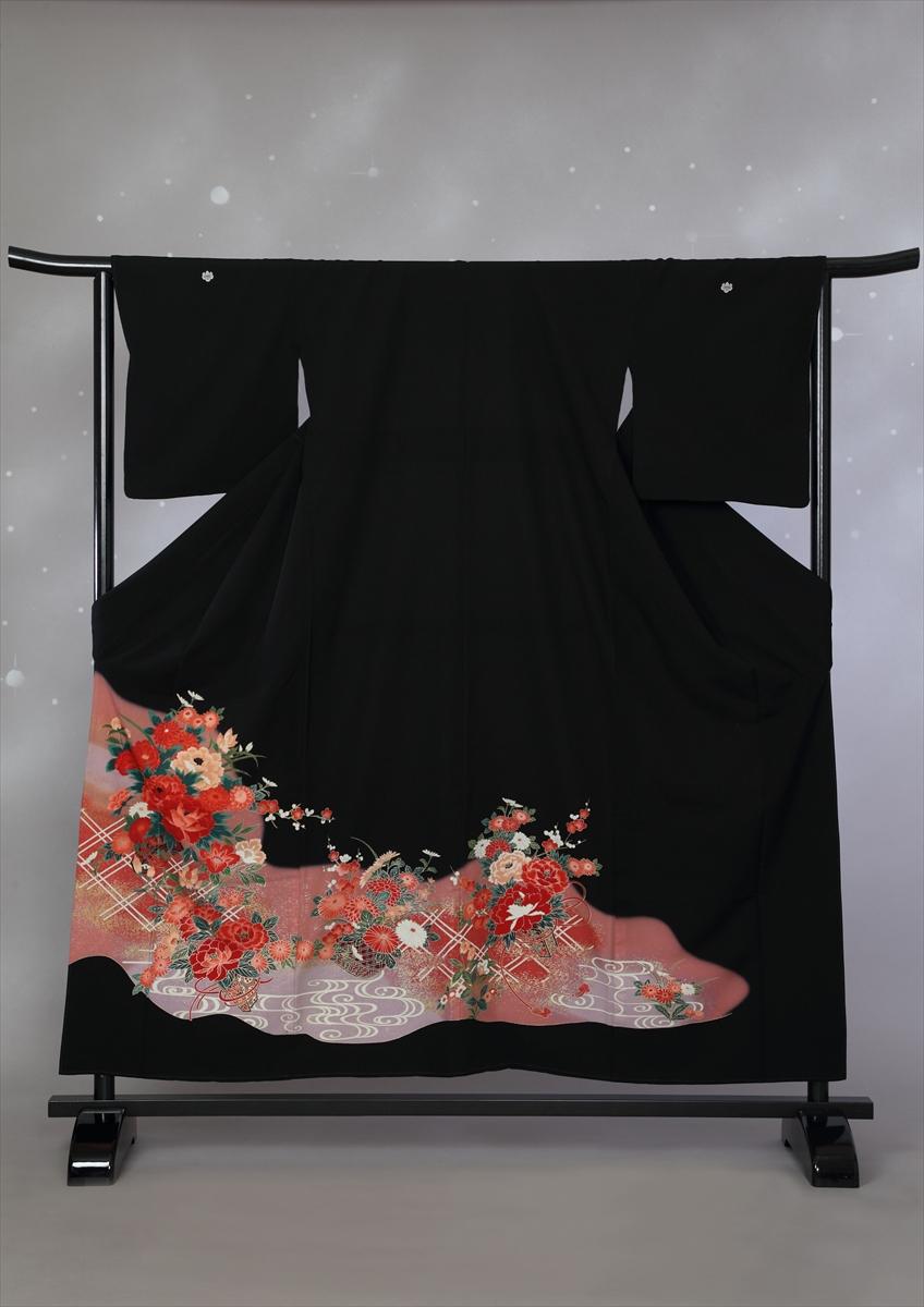 格子に花サブ画像2