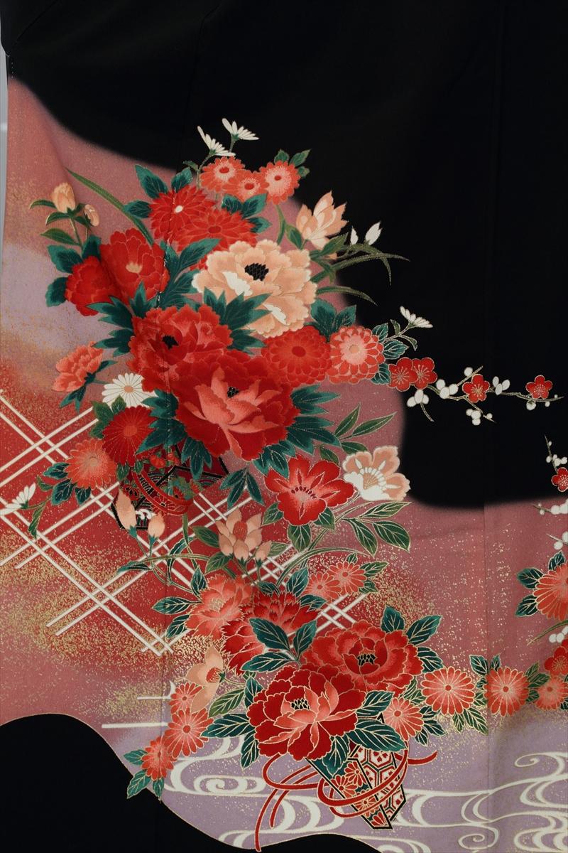 格子に花サブ画像1