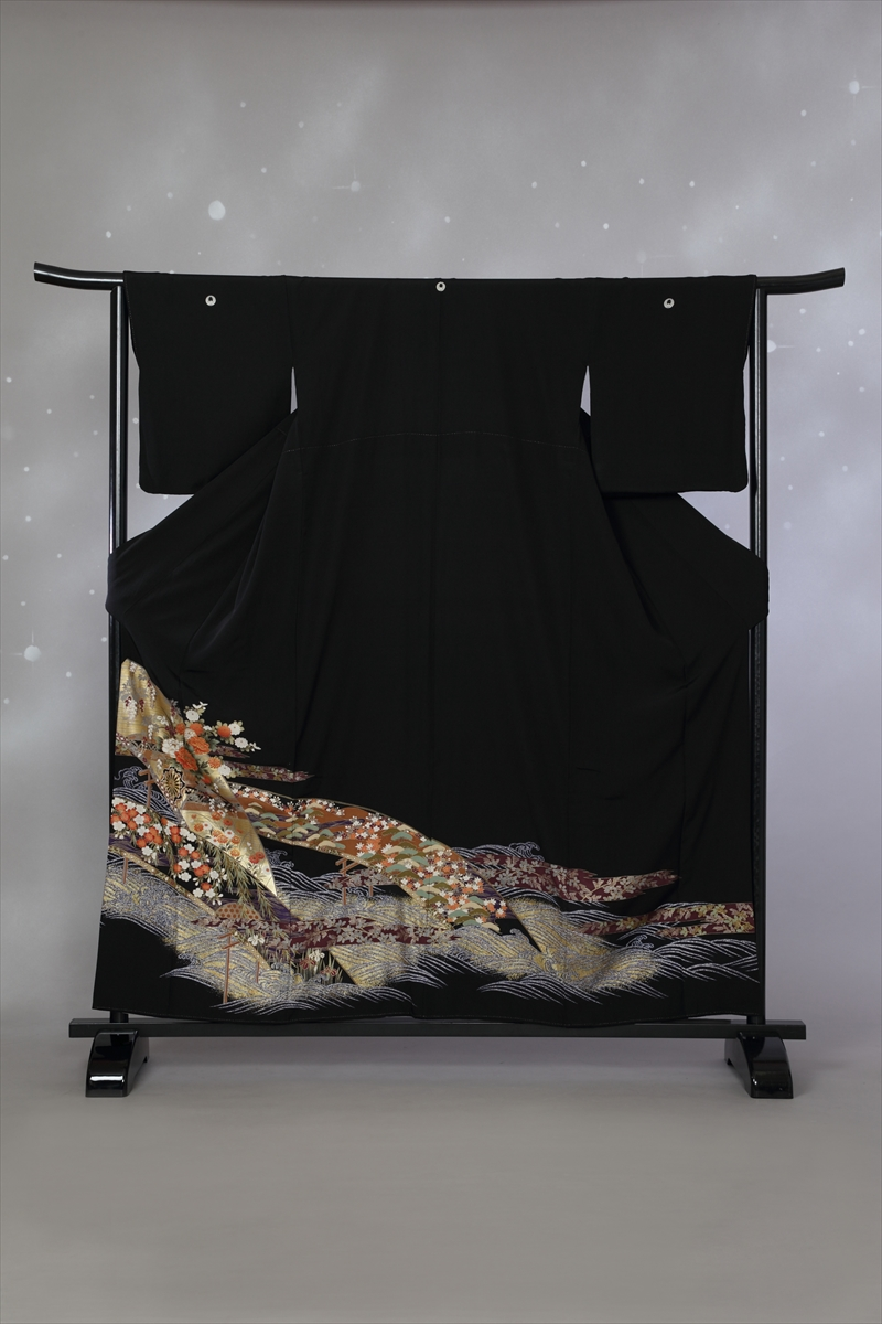 青海波に小花サブ画像2