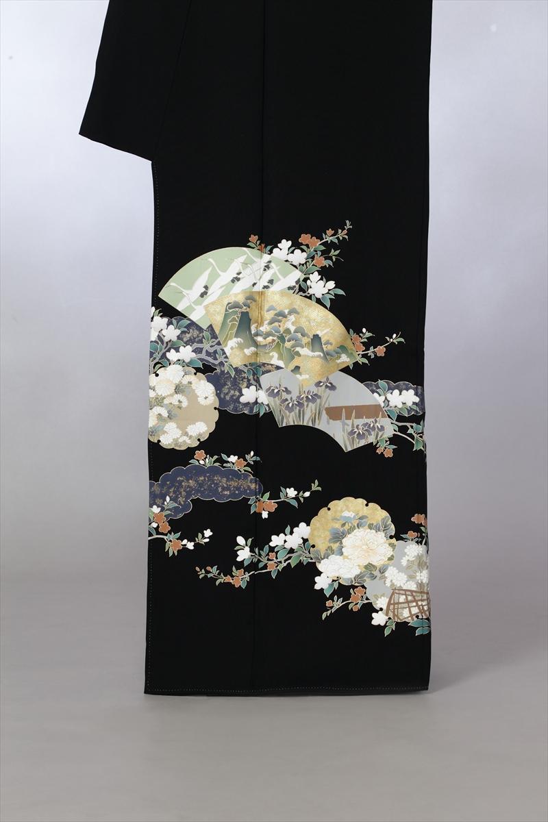 花紋と扇面